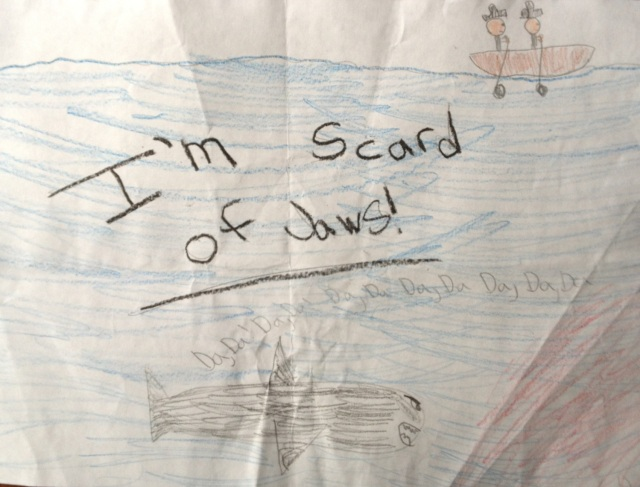 I'm Scared of Jaws!